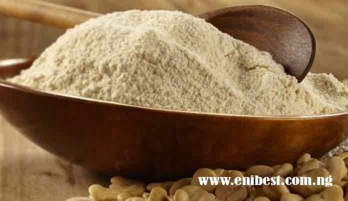 bean flour production