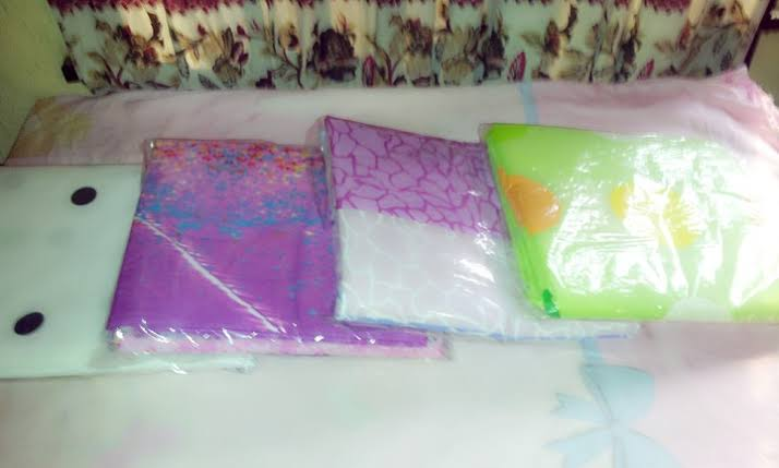 Packaging of bedsheet in bedsheet business