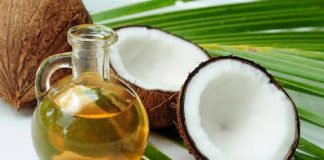 coconut oil production