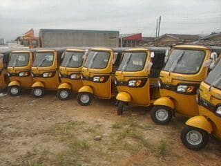 Keke hire purchase business