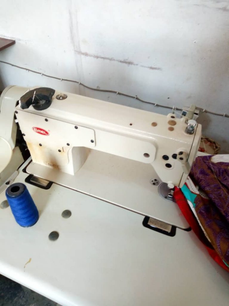 Tailoring material sewing business