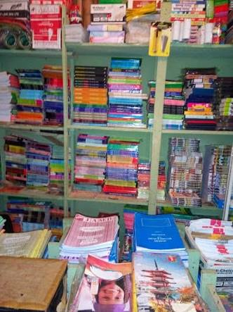 Book shop business, exercise books, books, store